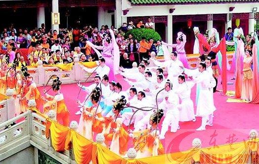 湖北元素亮相澳门妈祖文化旅游节