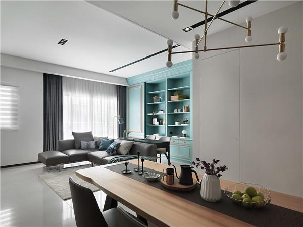 欣赏:精致典雅的蓝色系家居装修设计(组图)